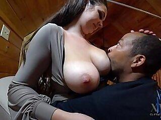 Victoria is Full of Milk, Xavier Drinks Up   adult breast milk nipples tits